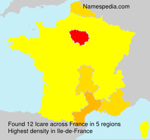 Surname Icare in France