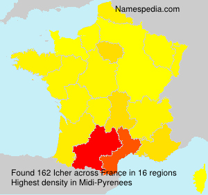Surname Icher in France