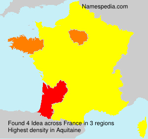 Surname Idea in France