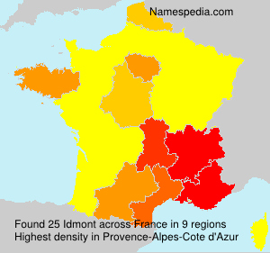 Surname Idmont in France