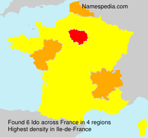 Surname Ido in France