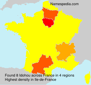 Surname Idohou in France