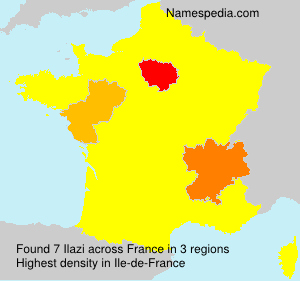 Surname Ilazi in France