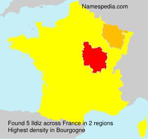 Surname Ildiz in France