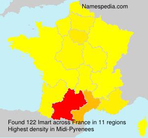 Surname Imart in France