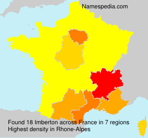 Surname Imberton in France