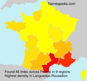 Surname Imbo in France
