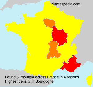 Surname Imburgia in France