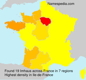 Surname Imhaus in France