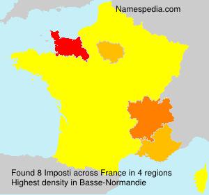 Surname Imposti in France