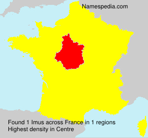 Surname Imus in France