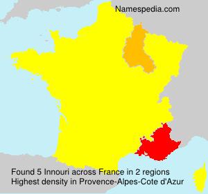 Familiennamen Innouri - France