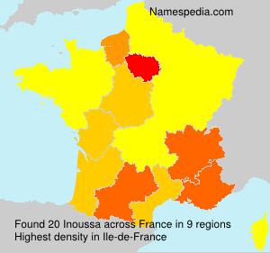 Familiennamen Inoussa - France