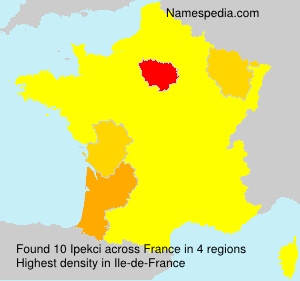 Surname Ipekci in France