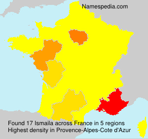 Surname Ismaila in France