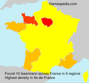 Surname Issermann in France