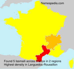 Surname Issmaili in France