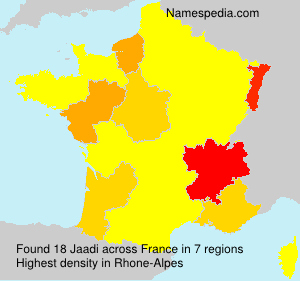 Surname Jaadi in France