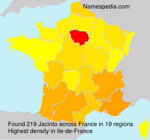 Surname Jacinto in France