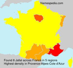 Surname Jallal in France