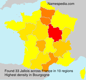 Surname Jallois in France