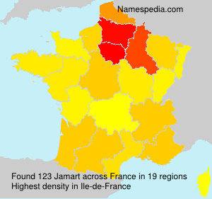 Surname Jamart in France
