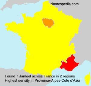 Surname Jameel in France