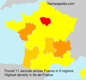 Surname Jarczak in France