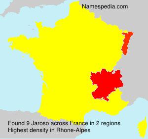 Surname Jaroso in France