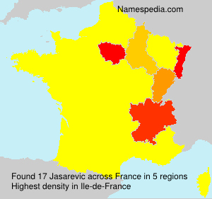 Surname Jasarevic in France
