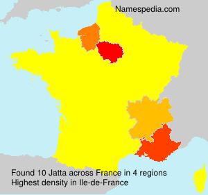 Surname Jatta in France