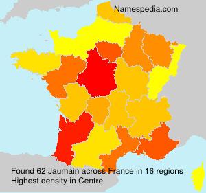 Familiennamen Jaumain - France