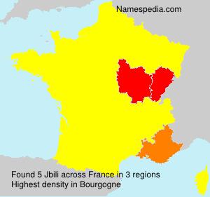 Surname Jbili in France