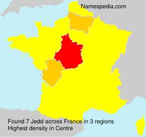 Surname Jedd in France