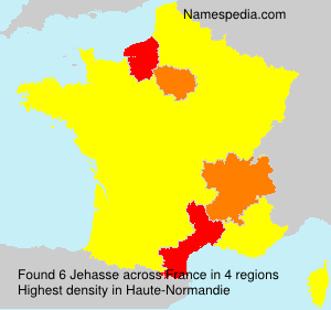 Surname Jehasse in France