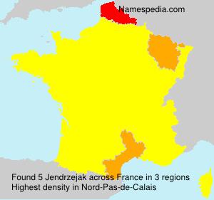 Familiennamen Jendrzejak - France