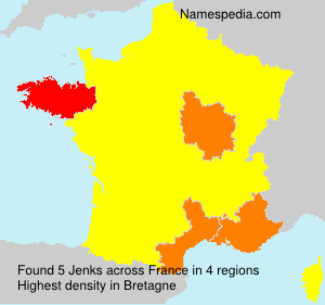 Surname Jenks in France
