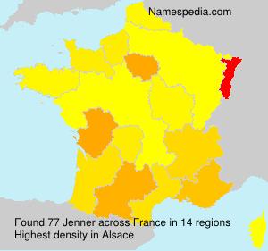 Familiennamen Jenner - France
