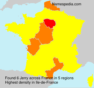 Surname Jerry in France