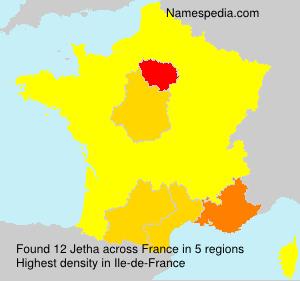 Surname Jetha in France