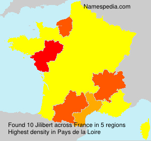 Surname Jilibert in France