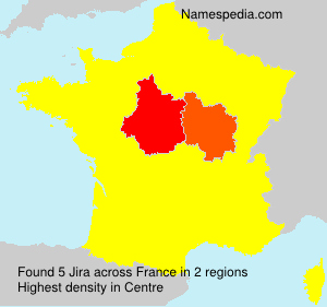 Surname Jira in France