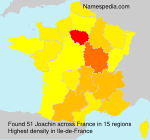 Surname Joachin in France