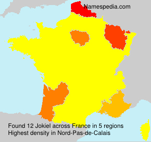 Surname Jokiel in France
