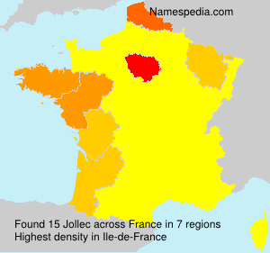 Surname Jollec in France