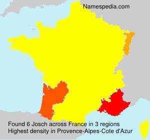 Surname Josch in France