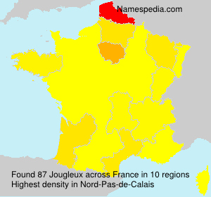 Surname Jougleux in France
