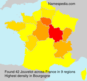 Surname Jouvelot in France