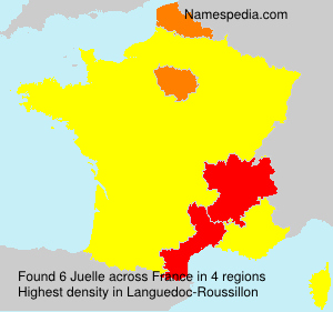 Surname Juelle in France