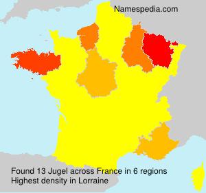Surname Jugel in France